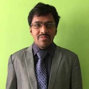 Srinivasu's corporate headshot