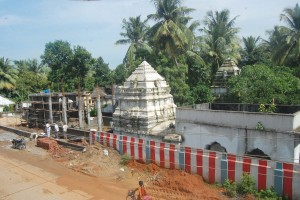 Over view of New Temple at Injaram