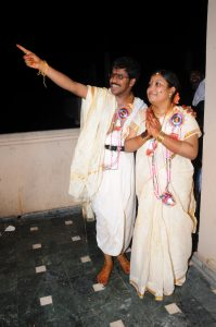 Viewing Arundathi Star along with darling Hema on 24th June, 2011
